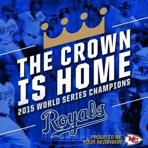 Crown is home