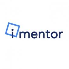 iMentor White Logo